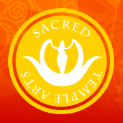 Sacred Temple Arts Goddess logo