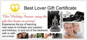 Best Lover Gift certif
